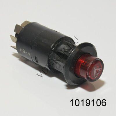 Elakadásjelző kapcsoló Lada 2106-2107 (vészvillogó) 7 lábas