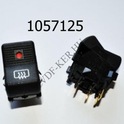 Fűtéskapcsoló Lada 2105 hátsóablakhoz visszajelzős