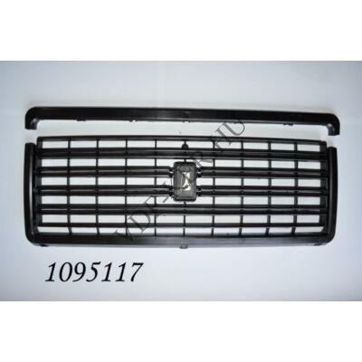 Hűtőrács Lada 2107 fekete műanyag