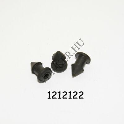 Kárpitpatent Niva gumi vastag padlószőnyeghez  24x13x16mm