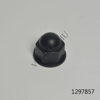 Kerékcsavar kupak 17mm Skoda - Trabant fekete