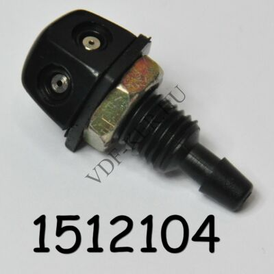 Ablakmosó spricni fém csavaros 2lyukas 10mm-es furatba