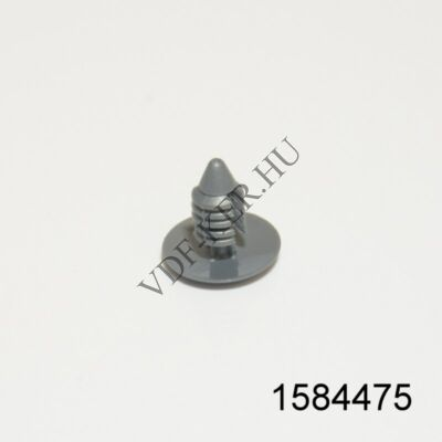 Kárpitpatent Daewoo szürke 6,5mm 187452
