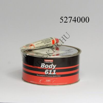 Gitt Body 611 1,8kg + 30g edző Késtapasz Kitt Economy 611.03.0000.2