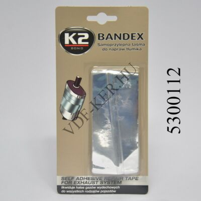 K2 ragasztószalag Bandex kipufogójavító