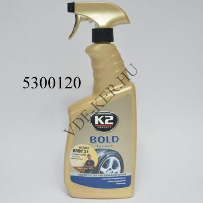 K2 gumiápoló Bold 700g pumpás