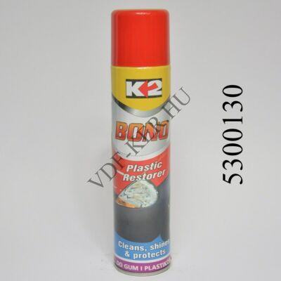 K2 műanyagápoló Bono 300ml színfüggetlen