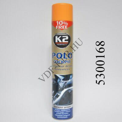 K2 műszerfalápoló BARACK narancs COCKPIT MAX 750ML