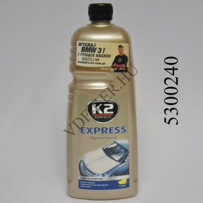 K2 sampon waxos sárga Express Plus 1L