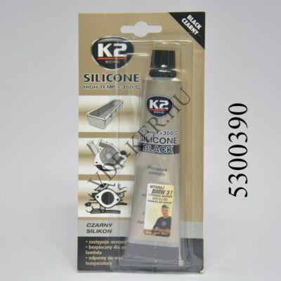 K2 tömítőpaszta Fekete 85g szilikon