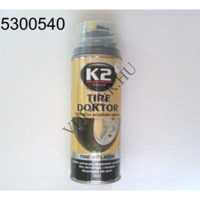 K2 TIRE DOKTOR defekt-spray 400ml
