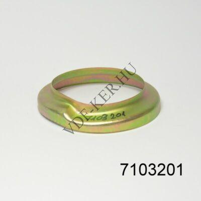Rúgópárna keret fém L2101-NIVA hátsó felső