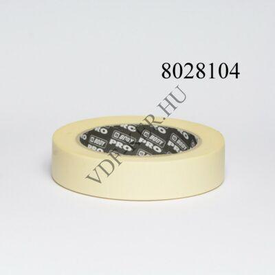 Ragasztószalag papír festéshez keskeny 50mx25mm 80C (maszkoló)