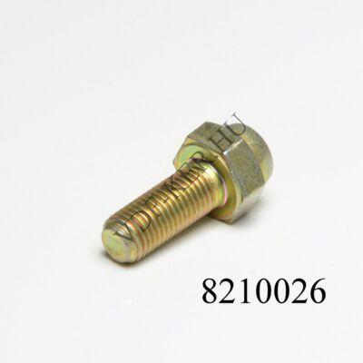 Acélcsavar 10x25mm 10x1.25 menettel féknyeregcsavar alsó (púpos) Lada