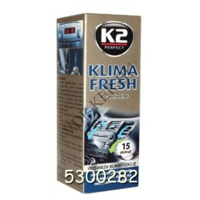 """K2 klímatisztító KLIMA FRESH  300ml """"füstölős"""""""