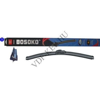 """Ablaktörlő lapát db-s 35cm Bosoko flexibilis 14"""""""